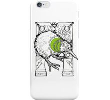 kiwi fruit the bird iPhone Case/Skin
