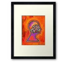 Vocal Grenade Framed Print