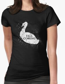 FALL IS COMING Womens Fitted T-Shirt
