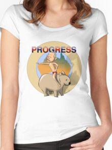 Progress! (Australia) Women's Fitted Scoop T-Shirt