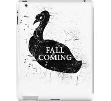 FALL IS COMING (black) iPad Case/Skin