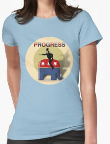 Progress - GOP Style Womens Fitted T-Shirt
