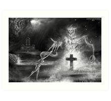 Enchanted Demon Spirit Art Print