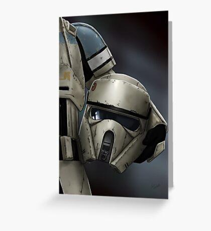 Helmet Series: Shoretrooper Greeting Card