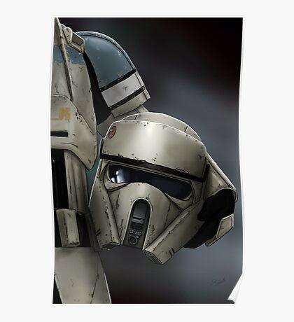 Helmet Series: Shoretrooper Poster