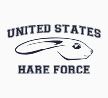 United States Hare Air Force Bunny by TheShirtYurt