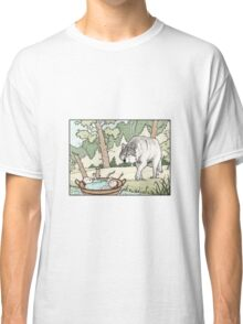Romulus and Remus and the wolf Classic T-Shirt