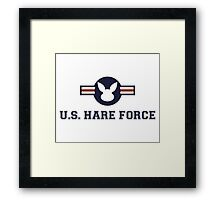 United States Hare Air Force Bunny Framed Print