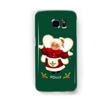 CHRISTMAS HOLLY Samsung Galaxy Case/Skin