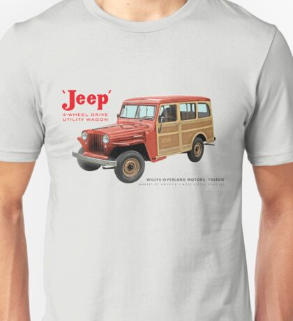 Jeep Wagons Unisex T-Shirt