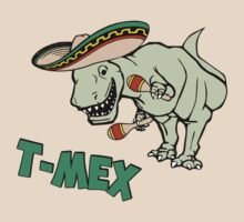 T-Mex T-Rex Mexican Tyrannosaurus Dinosaur by TheShirtYurt