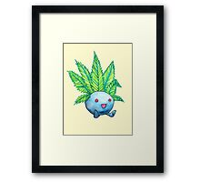 the weed smokemon Framed Print