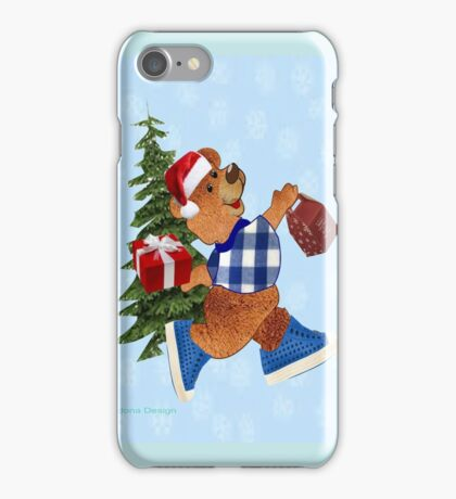 Teddy with gifts [ 2356 views] iPhone Case/Skin