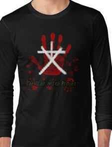 The Blair Witch Project Minimalist Design Long Sleeve T-Shirt