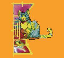 multieyed mutant feline by HiddenStash