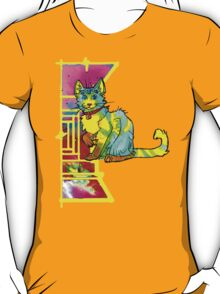 multieyed mutant feline T-Shirt
