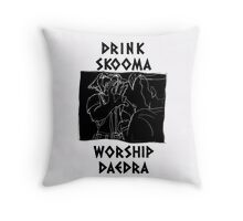 The Stumbling Sabrecat Throw Pillow