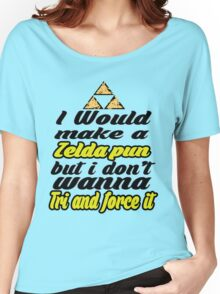 Triforce - Legend of Zelda - phunny  Women's Relaxed Fit T-Shirt