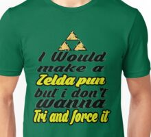Triforce - Legend of Zelda - phunny  Unisex T-Shirt