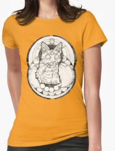 catatonic  Womens Fitted T-Shirt