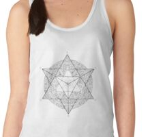 """Tetrahedron """"the old empire"""" Women's Tank Top"""