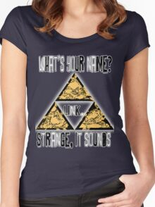Triforce - Legend of Zelda - Ocarina of Time Women's Fitted Scoop T-Shirt
