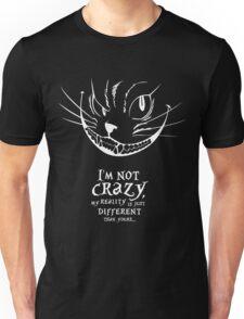 Cheshire White Unisex T-Shirt