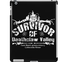 Deathclaw Valley Survivor (White) iPad Case/Skin