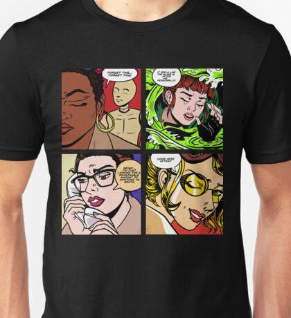 Lictenstein Ghostbusters Unisex T-Shirt