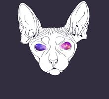 Galaxy Sphynx Simplified  Zipped Hoodie