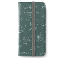 Physics diagrams and formulas iPhone Wallet/Case/Skin
