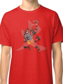 Incineroar With Fire kanji Classic T-Shirt