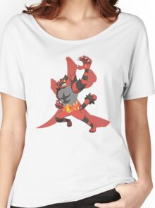 Incineroar With Fire kanji Women's Relaxed Fit T-Shirt