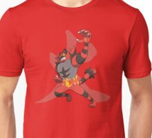 Incineroar With Fire kanji Unisex T-Shirt