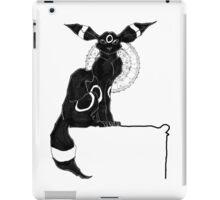 umbreon blanc et noir iPad Case/Skin