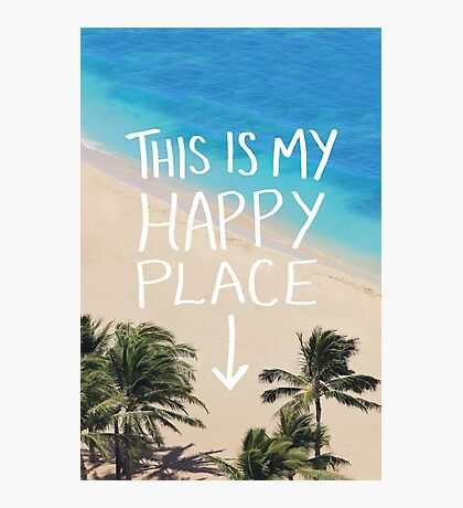 Happy Place Photographic Print