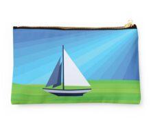 Green Sea Sailing Studio Pouch