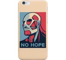 Attack on Hope iPhone Case/Skin