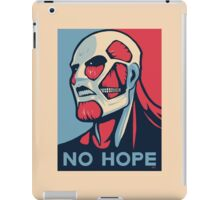 Attack on Hope iPad Case/Skin
