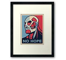 Attack on Hope Framed Print
