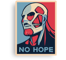 Attack on Hope Canvas Print