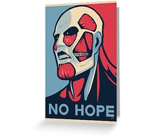 Attack on Hope Greeting Card