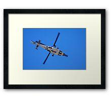 Copper Chopper Framed Print