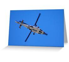Copper Chopper Greeting Card