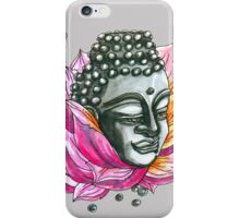 Decap Lotus Buddha (Rerelease) iPhone Case/Skin