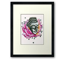 Decap Lotus Buddha (Rerelease) Framed Print