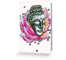 Decap Lotus Buddha (Rerelease) Greeting Card