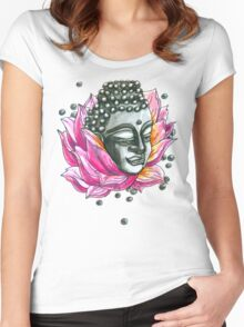 Decap Lotus Buddha (Rerelease) Women's Fitted Scoop T-Shirt