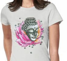 Decap Lotus Buddha (Rerelease) Womens Fitted T-Shirt