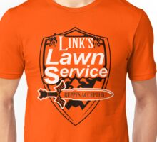 Link's Lawn Service T Shirt Gaming Retro Funny Zelda Tee Game Ocarina nice boy Unisex T-Shirt
